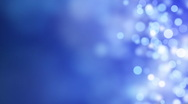 Loopable abstract background blue bokeh circles Stock Footage