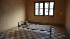 Tuol Sleng Museum Cambodia_LDA_N_00136.MOV Stock Footage