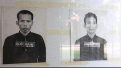Tuol Sleng Museum Cambodia_LDA_P_00167.MOV - stock footage