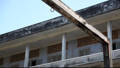 Tuol Sleng Museum Cambodia_LDA_N_00140.MOV Stock Footage