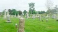 Great Barrington, Massachusetts Cemetery Stock Footage