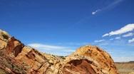 Southern Utah Desert Near Capitol Reef Stock Footage