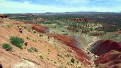 Red sands of southern utah Stock Footage