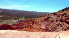 Red Dirt Southern Utah Stock Footage