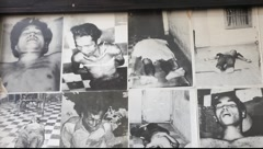 Tuol Sleng Museum Cambodia_LDA_N_00146.MOV Stock Footage