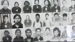 Tuol Sleng Museum Cambodia_LDA_N_00147.MOV Stock Footage