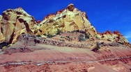 Stock Video Footage of Desert cliffs in Souther Utah