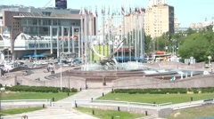 Europe Square Stock Footage