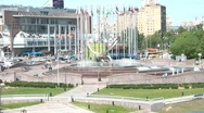Stock Video Footage of Europe Square