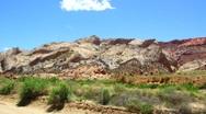 Capitol Reef Southern Utah Stock Footage