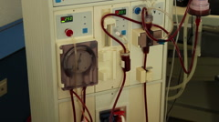 Dialysis Stock Footage