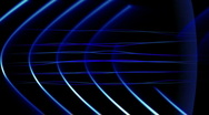 Frequency Abstract Loop - Cool Blue Stock Footage