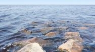 Sea landscape Stock Footage