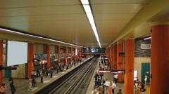 Montreal Metro - stock footage