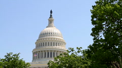 USA Capital Dome Stock Footage