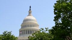 USA Capital Dome Stock Footage