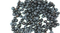 Hands Blueberry Eating Time Lapse Stock Footage