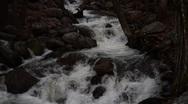 Rapid Water Yosemite Stock Footage