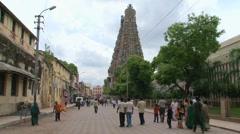 The Meenakshi Temple Stock Footage