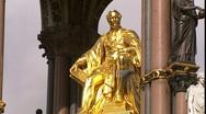 Albert Memorial London Stock Footage