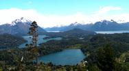 Bariloche landscape Stock Footage