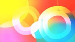 Looping morphing shapes background Stock After Effects