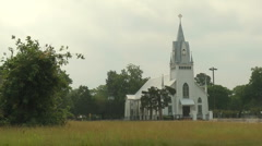 Old Church Stock Footage