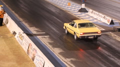 At the dragstrip with just about anything that has wheels - 56 Stock Footage