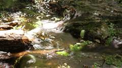 Darwin falls death valley california Stock Footage