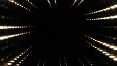Infinity lights variation 2 - stock footage