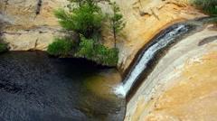 Upper Calf Creek Falls Stock Footage