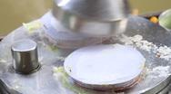 Traditional Thai dessert. Stock Footage