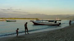 Gili islands Stock Footage