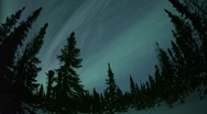 AURORA BOREALIS &  NORTHERN LIGHTS - TIMELAPSE & STAR-LAPSE Stock Footage