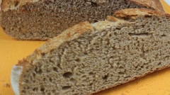 Whole Wheat Bread Stock Footage