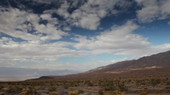 Timelapse mountain range death valley, california Stock Footage
