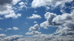 Clouds moving slow - stock footage