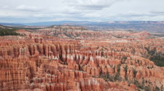 Rock structures at bryce canyon, utah, usa Stock Footage