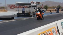At the dragstrip with just about anything that has wheels - 92 Stock Footage