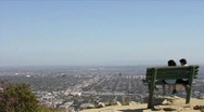 Runyon Canyon in LA HD Stock Footage