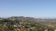 Hollywood Hills HD Stock Footage