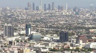 LA from Runyon Canyon HD Stock Footage