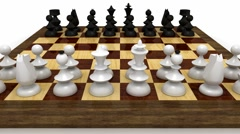 Chess match Stock Footage