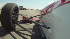 motorsports, POV, Formula Continental open wheel road course racing #1 - stock footage