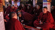 Stock Video Footage of Buddhist Nunnery