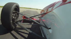 motorsports, POV, Formula Continental open wheel road course racing #2 - stock footage