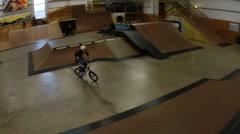 BMX BIKE CRASH accident Stock Footage