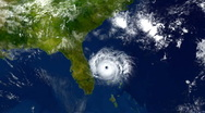 Florida Hurricane 2159 Stock Footage