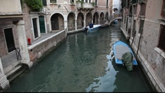 Venice canal (2) Stock Footage