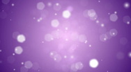Stock Video Footage of Purple Snow Lights Background Loop